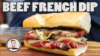 BEEF FRENCH DIP SANDWICH