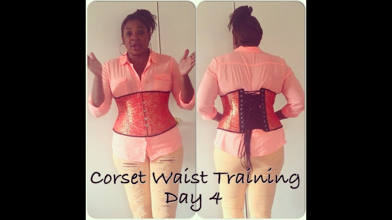 how to hide corset laces - corset waist training for plus size day
