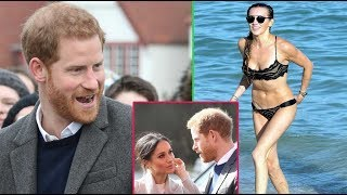 Katie Cassidy accepts Prince Harry's dating offer to sabotage his royal wedding with Meghan Markle.
