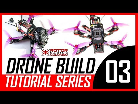 How To Build A Racing / Freestyle Drone - Part 03 (Camera & Flight Controller)