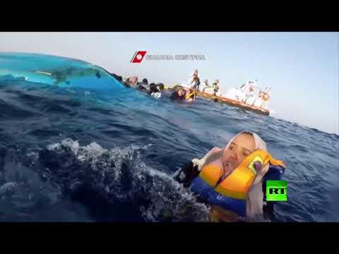 لقطات دراماتيكية لإنقاذ مهاجرين في البحر الأبيض المتوسط  - نشر قبل 16 دقيقة