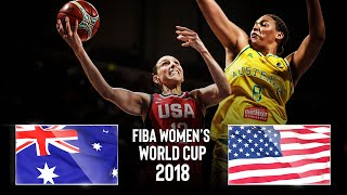 Australia 🇦🇺 v USA 🇺🇸 | FINAL | Classic Full Games - FIBA Women's Basketball World Cup 2018
