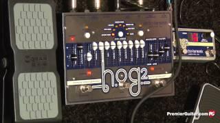 namm 13 electro harmonix epitome hog2 octave generator 45000 looper 8 step program demos
