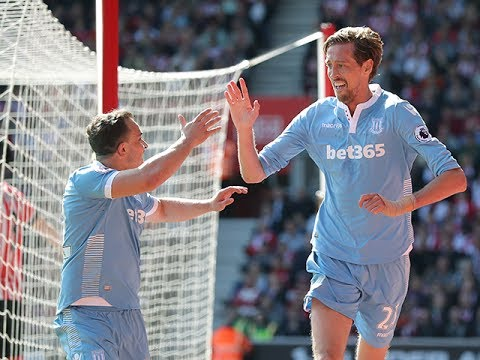 Peter Crouch Stoke City Goals 2016/17