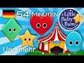 Das Lied der Formen | Und noch viele weitere Kinderlieder | von LittleBabyBum