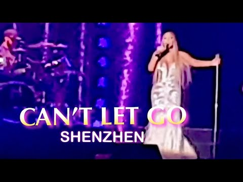 Can't Let Go - Mariah Carey (Live in Shenzhen 2018)