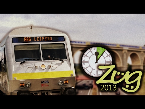 Zug2013-Express-Doku: RE6 Leipzig - Chemnitz - MRB
