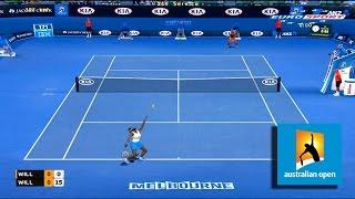 Tennis Elbow 2014 - Australian open  Venus Williams  vs Serena Williams GAMEPLAY