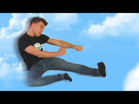 FLYING KARATE KICK! (Skate 3 Funny Moments)