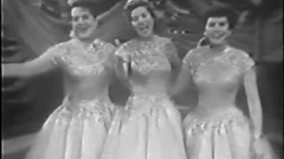 Download The Andrews Sisters Live - Bei Mir Bistu Shein & South America, Take It Away MP3 song and Music Video
