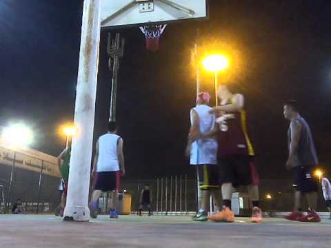 basketball in Kuwait - 1st game-4/5/2015