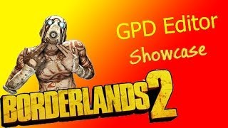 borderlands 2 gpd editor max golden keys unlock all customisations max badass stats