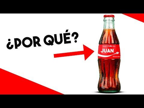 ¿Por qué COCA-COLA puso Nombres en sus Latas? | Debranding cómo Estrategia de Marketing
