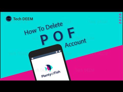 How To Delete POF Account   2020
