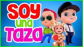 Soy Una Taza  |  Canciones infantiles para bailar |  Vídeos infantiles musicales