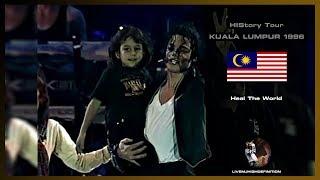 Michael Jackson - Heal The World - Live Kuala Lumpur 1996 - HD
