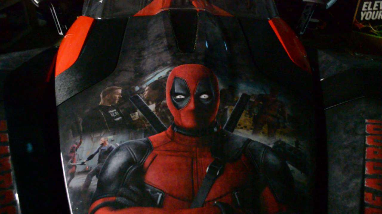 Car Wrap Vinyl >> Polaris Slingshot Deadpool Theme Wrap - YouTube