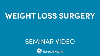 Essentia Health Weight Loss Management Program