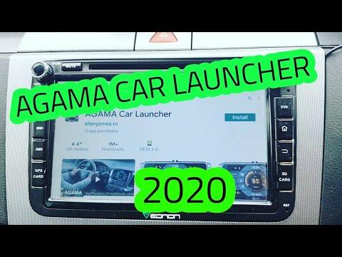 Agama android car launcher walk through demo - 2020 revisit + bonus dash cam footage