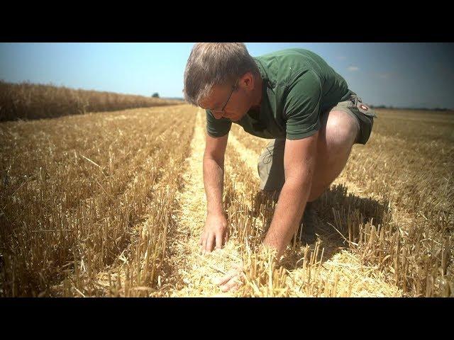John Deere - T550i - mit Lohnunternehmer Rainer Eichhorn auf Hektar-Jagd
