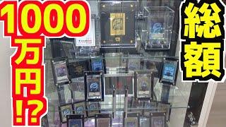 【遊戯王】総額1000万円越え!?夫の遊戯王ショーケースを紹介!【めいちゃんねる】【Yu-Gi-Oh!】