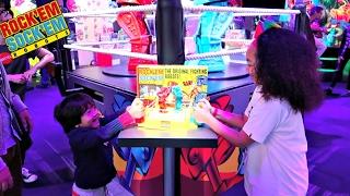 Rock'Em Shock'Em Fighting Robots Toy Challenge Game - Family Fun - Surprise Toys For Kids