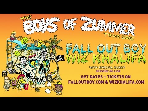 The Boys of Zummer Tour 2015 - Fall Out Boy & Wiz Khalifa w/ Hoodie Allen