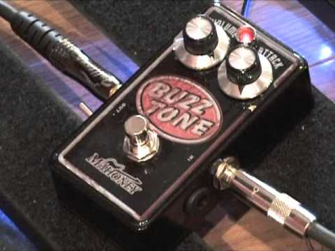 mahoney buzz tone fuzz guitar effects pedal demo youtube. Black Bedroom Furniture Sets. Home Design Ideas