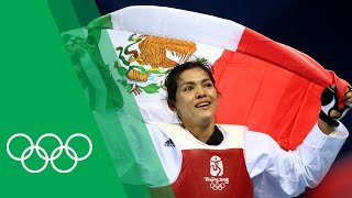 María Del Rosario Espinoza's Unique Celebration for Beijing 2008 Taekwondo Gold | Olympic Rewind thumbnail