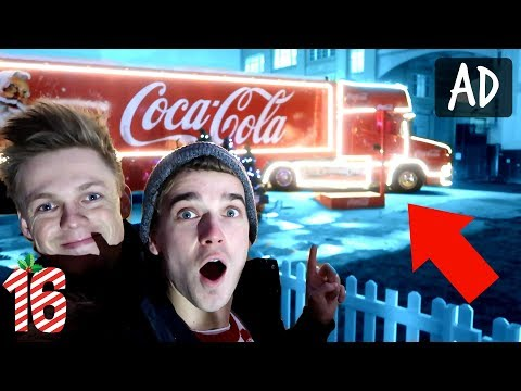 EVER WONDERED WHATS INSIDE THE COCA-COLA TRUCK?