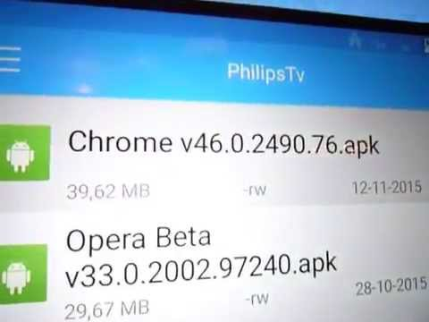 Philips 55PUK7150 Installing Chrome - Rather Useless On AndroidTv :FIXED Read Video Text!!