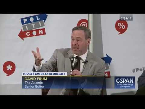 Politicon: Rob Reiner and David Frum talk about Russia's Strategy to Undermine American Democracy