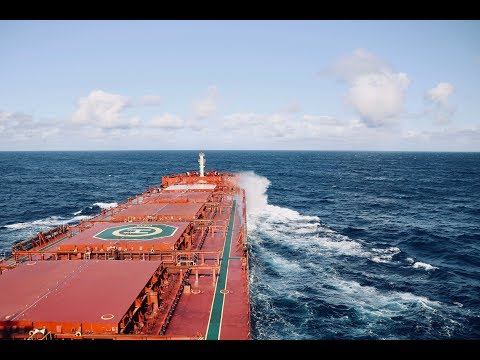 Life at Sea | Atlantic crossing on a Bulk Carrier