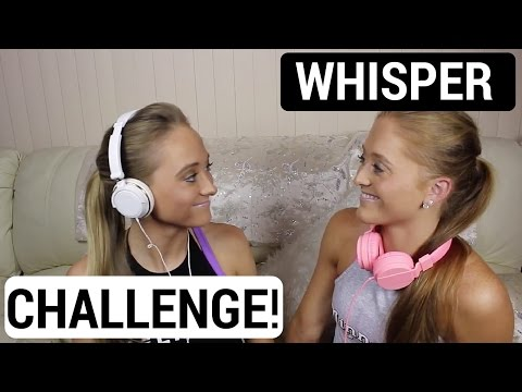 Whisper Challenge! | Sam & Teagan