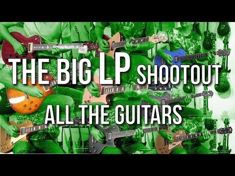 The Big LP Shootout - All The Guitars - Just Sounds