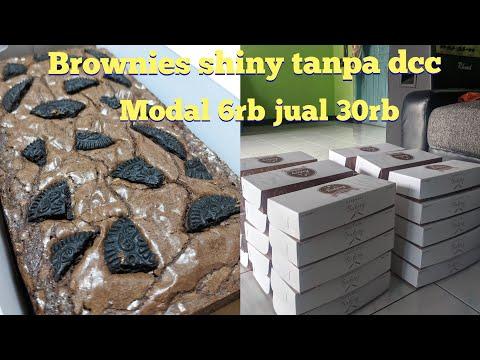 BROWNIES PANGGANG SHINY TANPA DCC