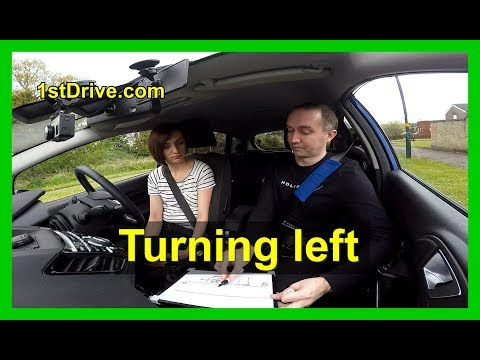 How to brake and turn left - Lucy's driving lessons episode 4