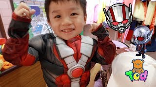 變身蟻人 雷神索爾!在英倫小鎮親子樂園好好玩 | Ant-Man Thor Theme Park Play | 小陶德沛莉