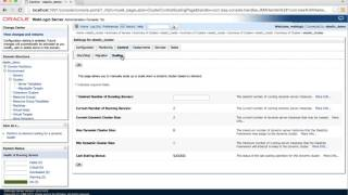 Elastic Cluster Scaling using WebLogic Administration Console - Oracle WebLogic Server 12.2.1 video thumbnail
