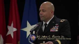 BG John C. Harris | Promotion Speech