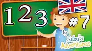 Inglese per bambini, i numeri in inglese - Lezione 07