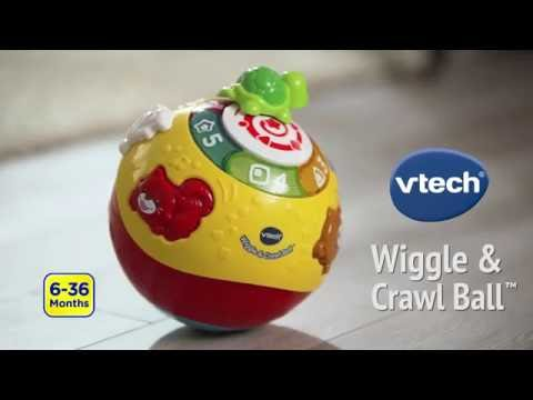 VTech Infant & Toddler: Wiggle & Crawl Ball™ Features