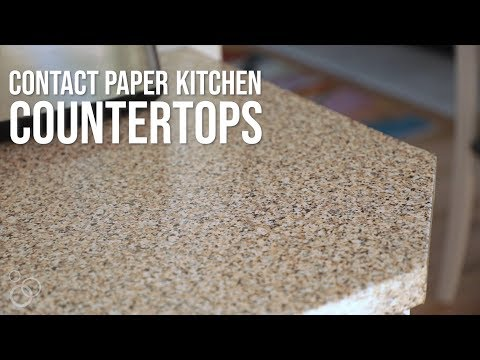 Transform your kitchen with countertop contact paper!