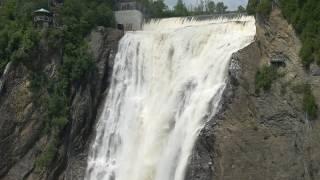 Binaural Experience: Montmorency Falls -  4K 3D Audio