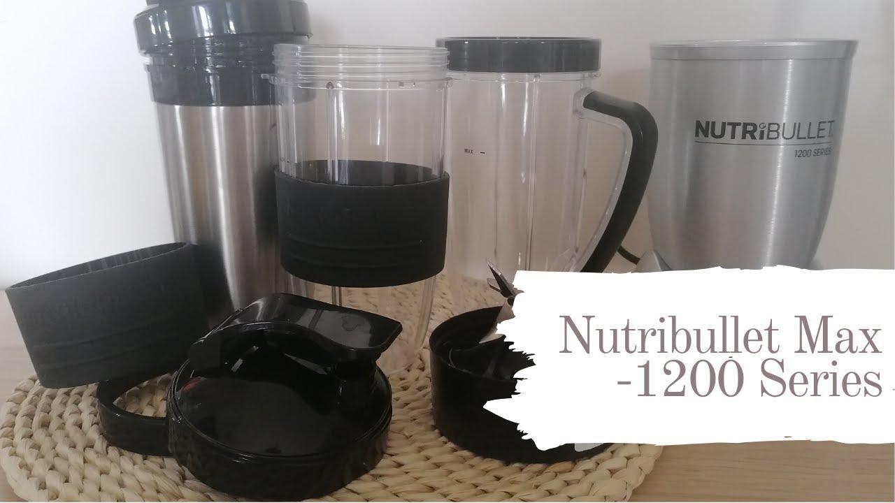 Nutribullet Max - 12 Series + Green Smoothie 🥤