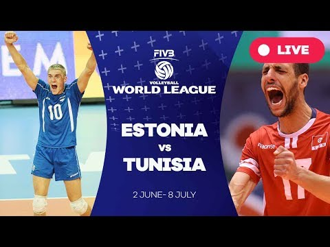 Estonia v Tunisia - Group 3: 2017 FIVB Volleyball World League