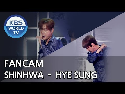 [FOCUSED] SHINHWA's HYESUNG  - All Your Dreams [Music Bank / 2018.06.29]