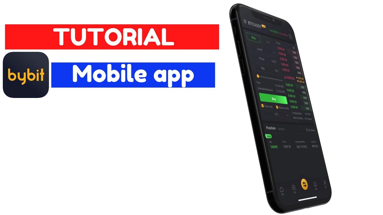 BYBIT TUTORIAL [ Como descargar y usar la app de Bybit en el celular]