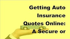 2017 Car Insurance Tips | Getting Auto Insurance Quotes Online   A Secure or Risky Route to Lower In