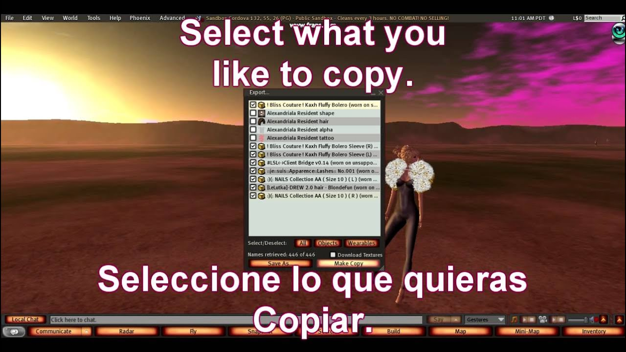 How to copybot on Second Life: Como copiar en Second life